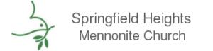 Springfield Heights Mennonite Church logo