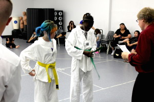 yellow & green belt