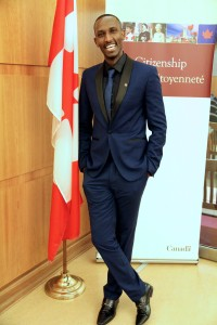 Gentil an official Canadian Citizen